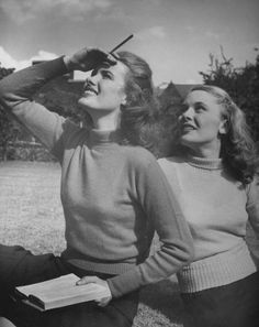College fashions photographed by Nina Leen, 1943