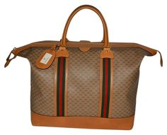 Gucci Vintage Travel Weekender Tan Travel Bag. Save 76% on the Gucci Vintage Travel Weekender Tan Travel Bag! This travel bag is a top 10 member favorite on Tradesy. See how much you can save