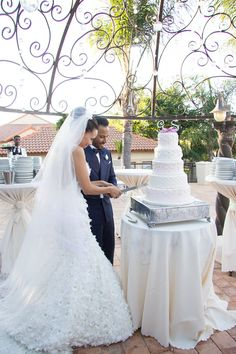 Chez Charlene - Wedding Cake
