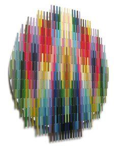 Pixelated popsicle sticks Artwork