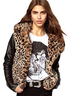 H-DY Women's Faux Fur PU Slipce Winte... $76.85 #bestseller