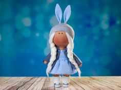 by OwlsUa on Etsy La Petite Collection, Veronica, Bunny, Toy, Textiles, Dolls, Christmas Ornaments, Holiday Decor, Unique Jewelry