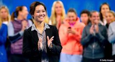 Li Na honored during on court retirement ceremony at @ChinaOpen. VIDEO--> http://wtatenn.is/8Jv6Jp #WTA #tennis