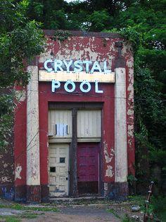 Glen Echo Park's Crystal Pool.