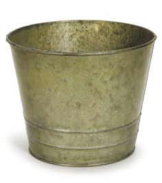 7'' Metal Bucket with Verdigris Color Surface at Joann.com
