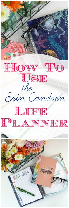 How I stay organized with my Erin Condren Life Planner. This is the best planner I've used. Here's why.
