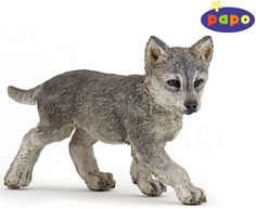 The Wolf Cub from the Papo Wildlife collection - Discounts on all Papo Toys at Wonderland Models. One of our favourite models in the Papo Wildlife range is the Papo Wolf Cub. http://www.wonderlandmodels.com/products/papo-wolf-cub/