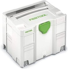 Amazon.com: Festool 497565 Systainer SYS 3 Tool and Accessory Storage Unit: Home Improvement Festool Systainer, Festool Tools, Tool Storage, Storage Spaces, Storage Systems, Ikea Kallax Unit, Basement Workshop, Diy Projects Cans, Workshop Organization