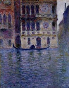 """Claude Monet """"La Ca Dario"""""""