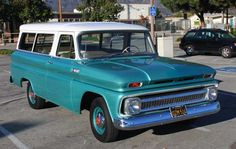 1965 Chevy Suburban-had one of these for about 3 months in 1972--only mine was military green--came from an air base.