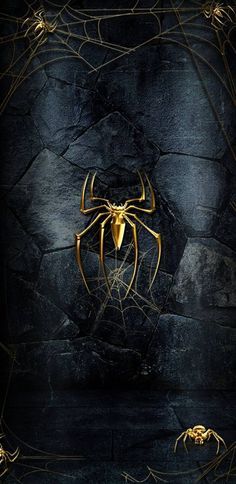 spider Wallpaper by Paanpe - - Free on ZEDGE™ now. Browse millions of popular black Wallpapers and Ringtones on Zedge and personalize your phone to suit you. Browse our content now and free your phone Phone Wallpaper For Men, Deadpool Wallpaper, Avengers Wallpaper, Screen Wallpaper, Hd Phone Wallpapers, Black Wallpaper, Wallpaper Quotes, Black Spiderman, Spiderman Art