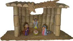 Decoración navideña con tapones de corcho de vino Nativity Stable, Diy Nativity, Christmas Nativity, Kids Christmas, Christmas Crafts, Christmas Decorations, Christmas Ornaments, Kids Crafts, Arts And Crafts Projects