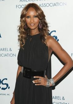 Iman, 59…i saw her once at JFK airposrt and she was so stunningly beautiful, she literally took my breath away!