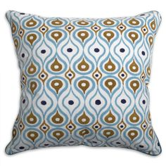@Lara Collins check out these new jonathan adler pillows!!!  this one is called a bobo plume pillow!