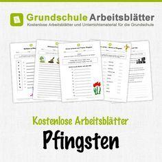 Kostenlose Arbeitsblätter und Unterrichtsmaterial zum Thema Pfingsten in der Grundschule.