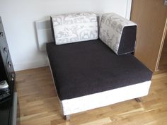 Need a single all the time use bed but space is limited?  The Hocker may be a good answer - it was for this customer.