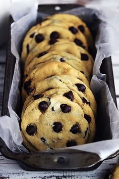 The BEST EVER chocolate chip cookies just got a makeover - super soft and chewy and stuffed with caramel, the flavor and texture is absolute perfection!