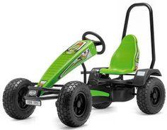 BERG Xplorer XT3 Pedal Go-Kart for ages 5 to adult - rugged 3 ...