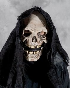 Amazon.com: Grim Reaper Mask Accessory: Clothing