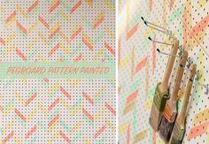 #idoproyect #pegboard #pattern #decorationideas