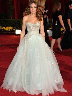 Oscars 2009, Sarah Jessica Parker - Dior Haute Couture