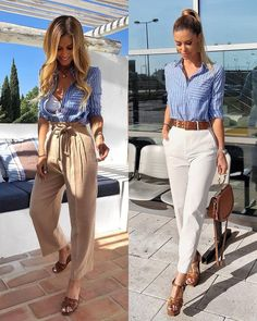 Today we will talk about the best summer work outfit ideas for 2019 year. If you want to find some great work outfit pictures and ideas. Casual Work Outfits, Professional Outfits, Mode Outfits, Classy Outfits, Chic Outfits, Spring Outfits, Fashion Outfits, Spring Outfit For Work, Work Outfits For Women