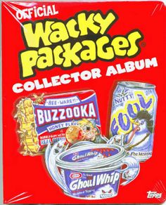 Wacky Packages ANS2 Collector's Album 2005 Complete