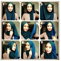 Hijab tutorial by ayu..