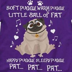 Mixing two of my favorite things: pugs and Big Bang Theory on a purple background. Made for Darla.