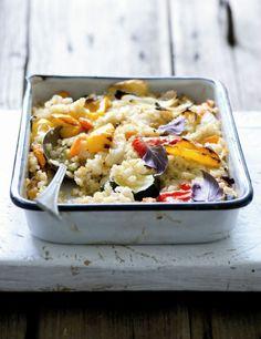 Rizoto s quinoou a pečenou zeleninou , Foto: