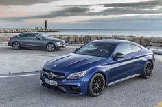 Nieuwe foto's van de Mercedes C63 S AMG Coupé