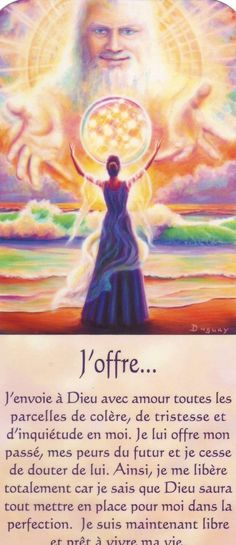 l'offrande au divin by Mario Duguay Positive Attitude, Positive Thoughts, Positive Vibes, Dalai Lama, Mario, Messages Spirituels, Auras, Oracle Cards, Osho