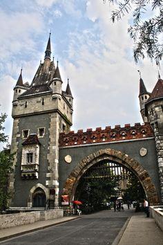 Vajdahunyad castle: Dracula's castle