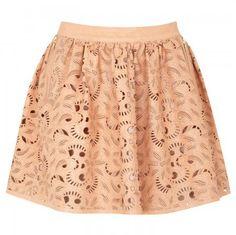 #harveynichols.com        #Skirt                    #Laser-cut #leather #skirt                          Laser-cut leather skirt                             http://www.seapai.com/product.aspx?PID=830753