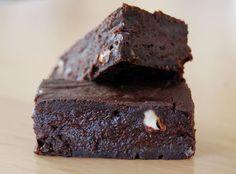 Wouhouuuu un brownie sans une once de matière grasse!