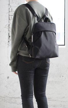 Leather Backpack, Backpacks, Bags, Women, Fashion, Handbags, Moda, Leather Backpacks, Fashion Styles