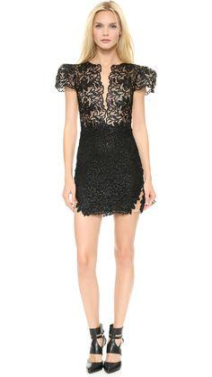 Patricia Bonaldi Lace Poof Sleeve Dress $1,465.00