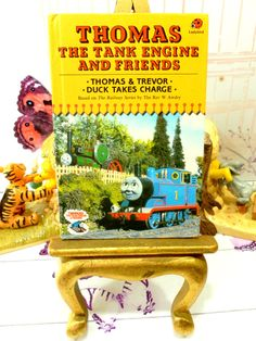 Thomas the Tank Engine Vintage Ladybird Book Trevor by KittysTales