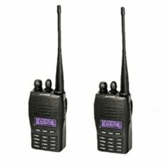 AGPtek (2pack) Puxing PX-777 128-Channel 136-174Mhz VHF Two-Way Radio Walkie Talkie with Emergency Alarm Three Color LCD Backlight Display (Bulit-in VOX and Scan Function) by AGPtek. $113.99. General Specifiction: Frequency Range: PX-777 (V)136 ~ 174MHz Channels: 128 Channel Steps: 5k,10k,6.25k,12.5k,25k  Power Supply: 7.2V 1200mah LI-ion Operating Temperature: -20¡ãC ~ +60¡ãC Communication Range: 8 ~20km Dimension (H x L x W): 100 x 55.5 x 31mm Weight: 225g  R...