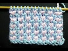 Cómo Tejer Puntada Ropa Bebé‎ #1 How Knit Stitch for Baby 2 Agujas (294), My Crafts and DIY