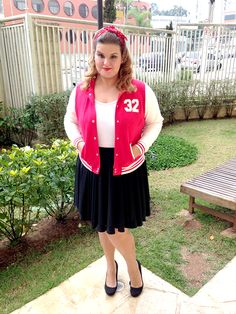 High School Look -  Look do dia plus size #ootd #plussize #fatshion  www.grandesmulheres.com.br