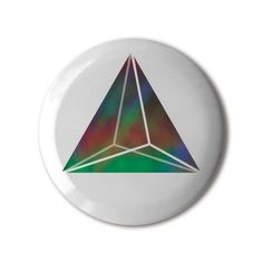 #BBOTD Stereohype #button #badge of the day by FL@33 https://www.stereohype.com/411__fl33 #Triangular #Bipyramid