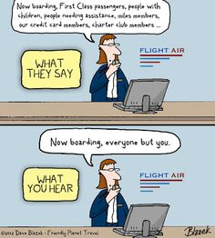 Friday's Friendly Funny: Boarding customs - Friendly Planet Travel