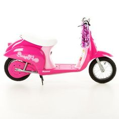Razor Pocket Mod Moped Electric Motorized Scooter For Kids,Pink,Blue,Green,Red,Black