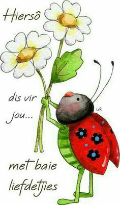 "You are my sunshine- Anne Lisbeth Stavland - Álbumes web de Picasa ""Happy Birthday Sunshine! Art Fantaisiste, Ladybug Art, Illustration Noel, Illustrations, Watercolor Cards, Whimsical Art, Stone Painting, My Sunshine, Rock Art"