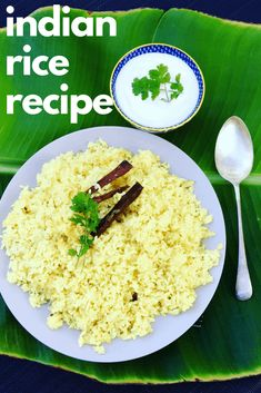 Easy Indian Rice Recipe - Peter's Food Adventures Rice Recipes, Asian Recipes, Fried Onions, Curry, Spices, Tasty, Indian, Sweet, Food