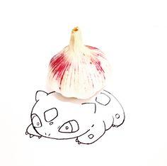 Bulbasaur + Alho | | by wannelle | instagram (wannelle)