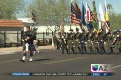 Phoenix celebró por todo lo alto el Día de los Veteranos