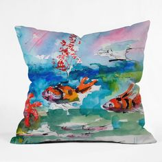 Is your child a Marine Biologist in the making? He or She would love this pillow!