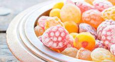 Pâtes de fruits pour retours de sortie.